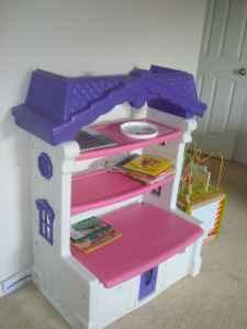 Today S Kids Cottage Toy Box W Shelves Nice Clermont