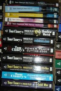 * TOM CLANCY : 48 paperbacks: VGC - LN 12/$10 or just