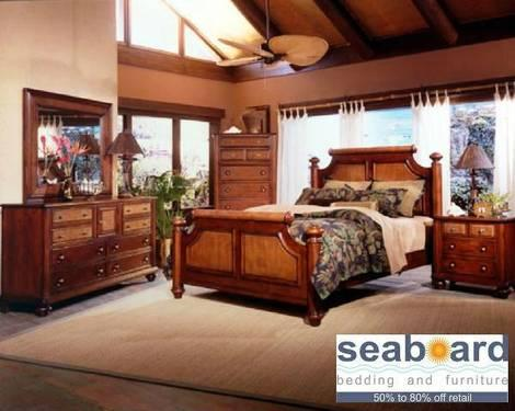 tommy bahama inspired island house bedroom furniture