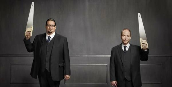 TONIGHT- Two half priced tix to Penn and Teller