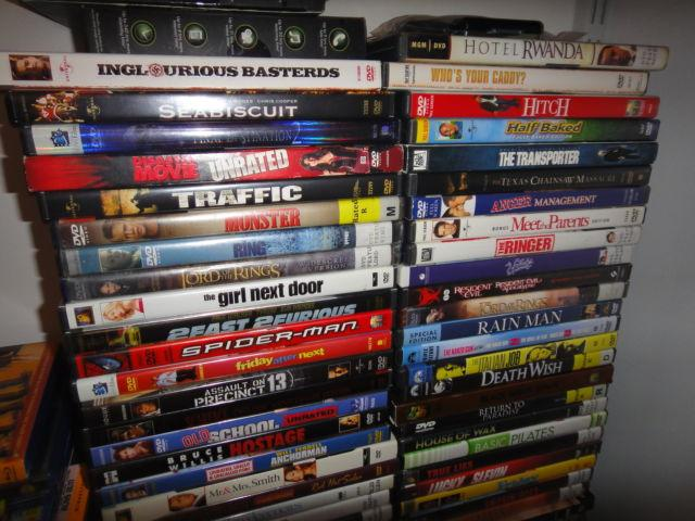 Used Dvds For Sale >> Tons Of Dvd S