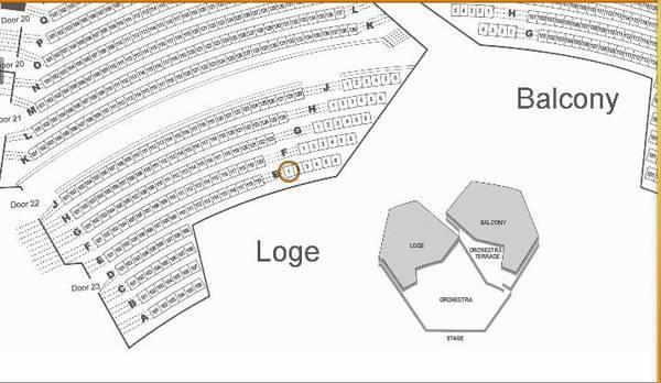 tony bennett - front row loge tickets