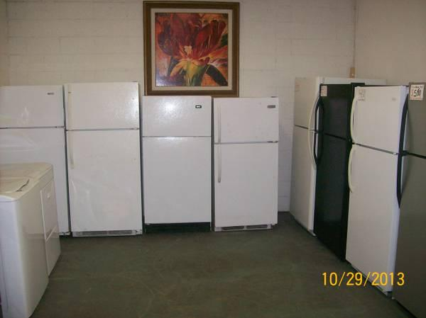 TOP FREEZER REFRIGERATORS - $100