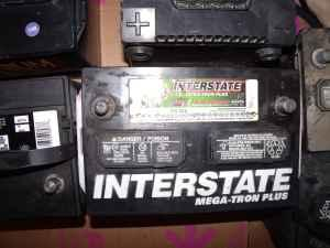 Interstate Megatron Plus Car Battery