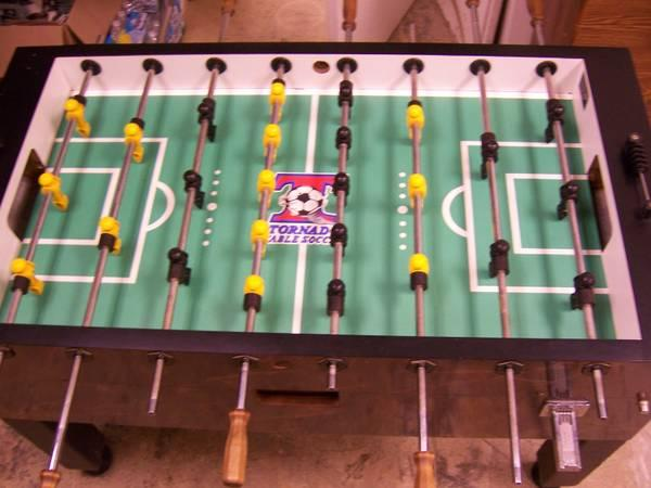 Tornado Coin Operated Foosball Table  Commercial Foosball  for Sale in Fair -> Table Tv Coin