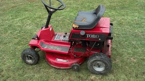 how to change oil in cox ride on mower