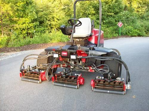Toro Reelmaster 4 X 4 Fairway Reel Lawn Mower Kubota