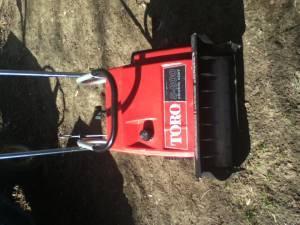 TORO S200 SNOWBLOWER W/ELECTRIC START - $75