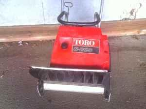 toro snowblower - $65 (freeport ILL)