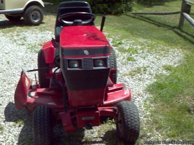 Toro Wheel Horse Lawn Tractor For Sale In Au Gres