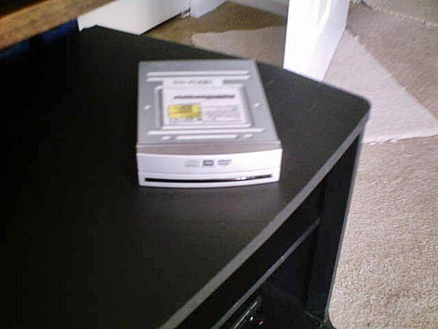 Toshiba DVD-CD RW internal drive, HP Ink & Keyboard