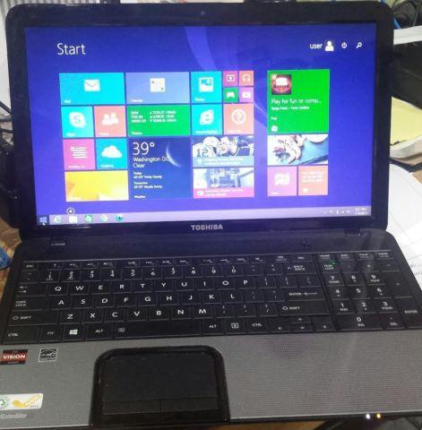 Toshiba Satellite C855D-S5109 Win 8.1 Dual Core 4GB