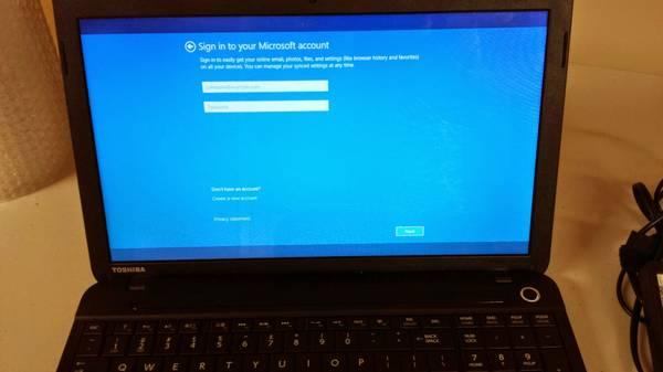 how to reset a toshiba laptop windows 8