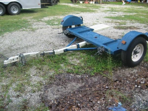 TOW DOLLY CAR/TRUCK STEHL 2008 WITH TITLE GVWR2999 LIKE NEW - $895