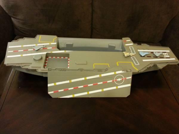 TOY AIRCRAFT CARRIER - $15