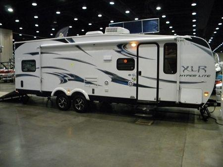 Toy Hauler Camper 2012 with slide out 27HFS Forest