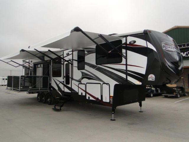 Toy Hauler Side Patio 2015 Road Warrior 420 For Sale In