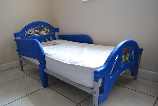 Toy Story Toddler Bed WITH Mattress For Sale In Miami