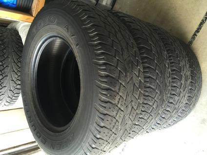 Toyo Open Country 255/70/R16