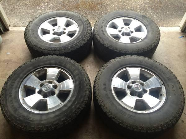 Toyota Bend Oregon >> Toyota 4runner/Tacoma wheels and tires - for Sale in Bend ...