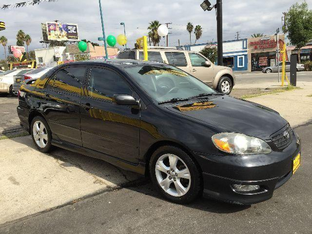 toyota corolla 2005 xrs stick clean title clean carfax for sale in north hollywood. Black Bedroom Furniture Sets. Home Design Ideas