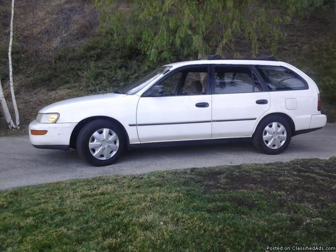 toyota corolla wagon for sale in castaic california classified. Black Bedroom Furniture Sets. Home Design Ideas