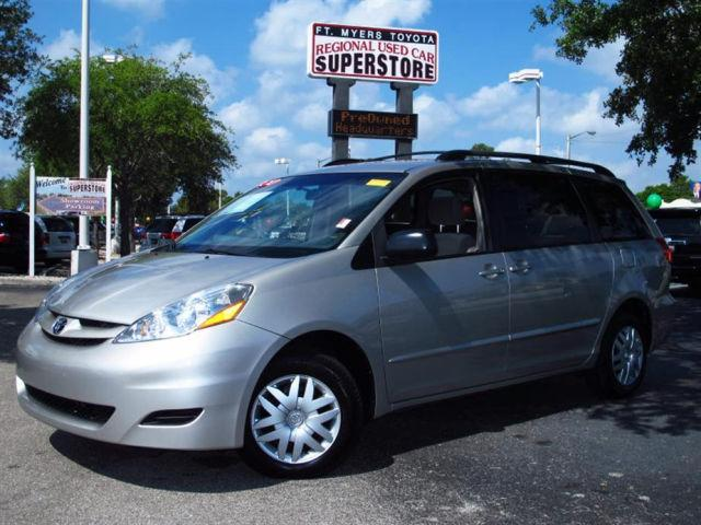 toyota sienna 2007 brown 2007 toyota sienna car for sale in fort myers fl 4427120897 used. Black Bedroom Furniture Sets. Home Design Ideas