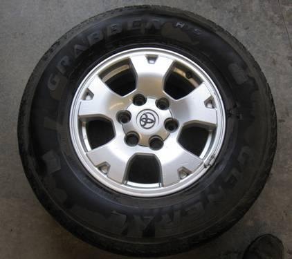 toyota tacoma 2005 2012 4 rims and tires 4wd for sale in. Black Bedroom Furniture Sets. Home Design Ideas