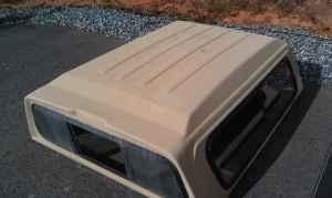 Toyota truck topper - $150 Rutherford county