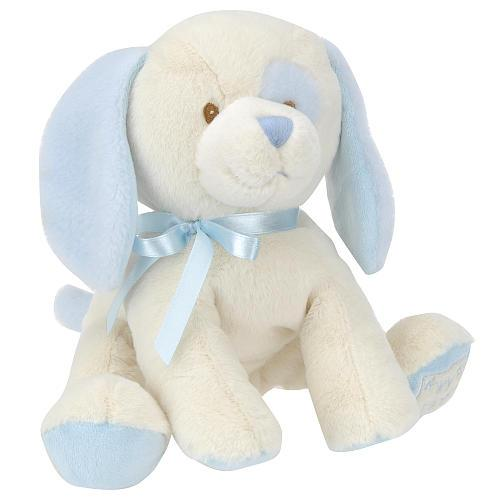 Toys R Us Plush 10 5 Inch My First Puppy Blue And White For Sale