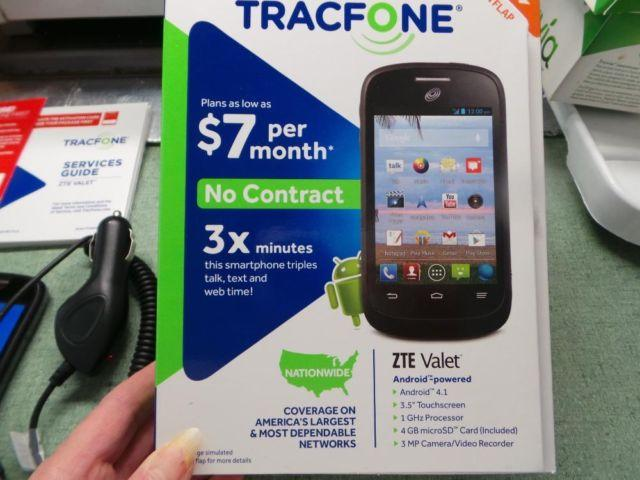 Tracfone – ZTE Valet Z665C Android Smartphone for Sale in
