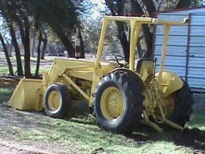 Tractor 45hp Massey Ferguson, front end loader - $7500 (Leander)