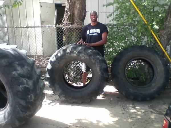 Tractor Tire For Ufc Workout Or Crossfit For Sale In Fort