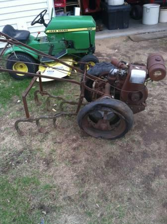Walk Behind Tractor >> Tractor Walk Behind Tractor David Bradley Planet Jr Gravely 150
