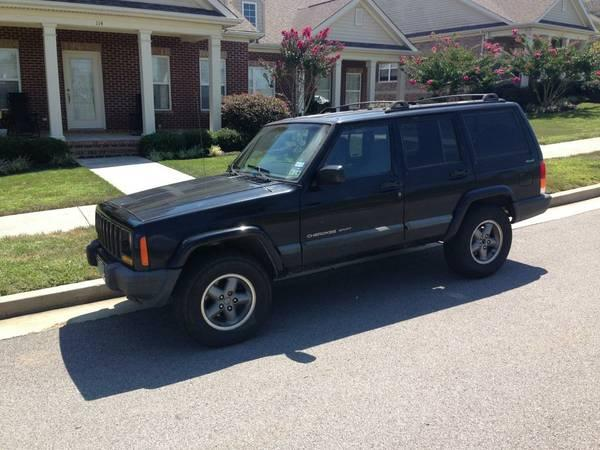 Trade 2000 cherokee rims & tires for 32 or 31s tires for my Jeep  - $350