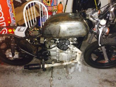 Trade my 1979 Honda CX500 project cafe racer bike for