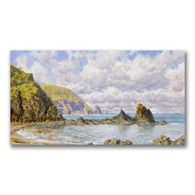 Trademark Fine Art 16 in. x 32 in. Forest Cove,