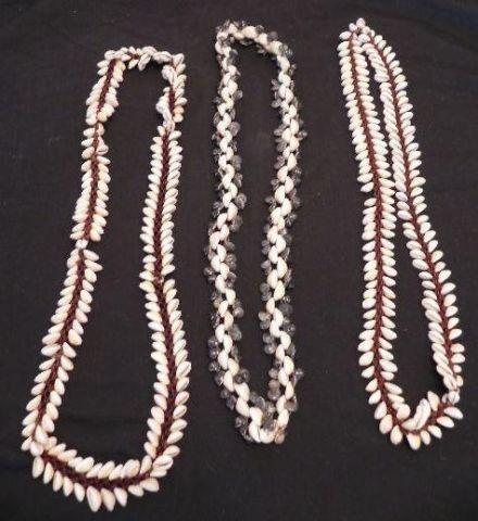 Trading Beads/Pucca Shell Necklaces