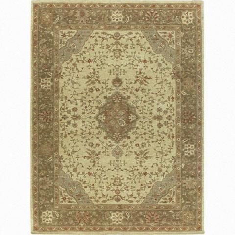 Traditional Design Almarah 100% Wool Rug 5'x8'
