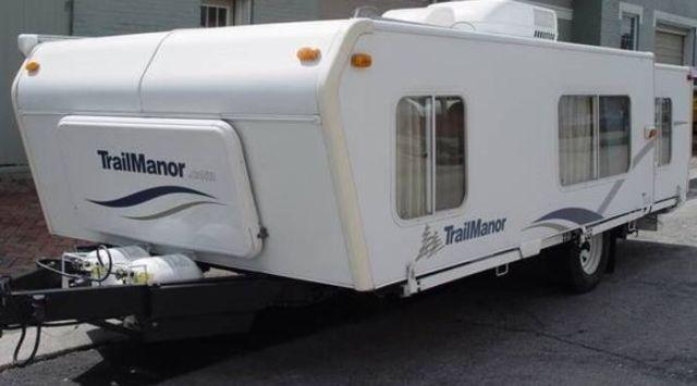 Trail manor HI-LO 20 to 27 ft. Travel Trailor