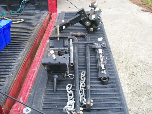 Stabilizer Bars For Travel Trailers : Trailer hitch w stabilizers and sway bars for sale in