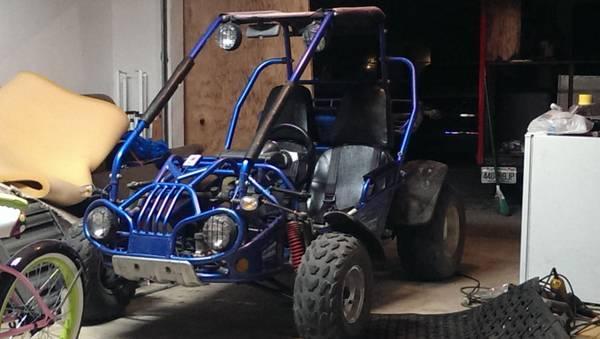 trailmaster 150cc buggy go kart - $1500