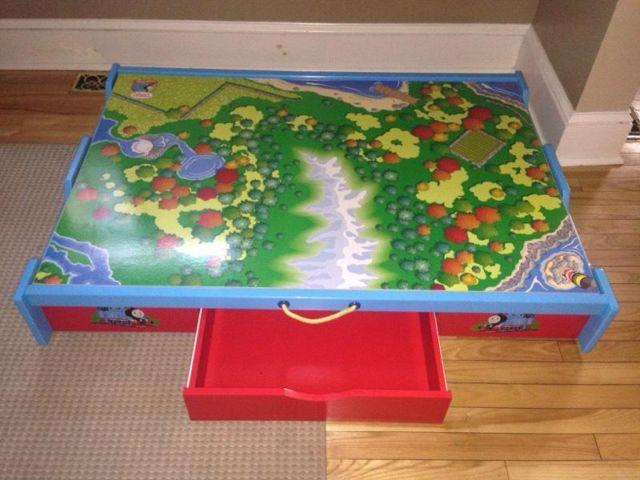 Delicieux Train Table, $100 Thomas Train Trundle Table