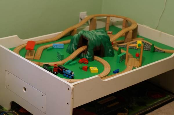 Train Table With Track And Trains For Sale In