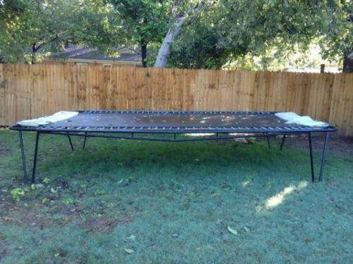 Trampmaster 10' x17' rectangle trampoline for Sale in ...