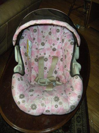 Traveling system (carseat & stroller) - $50