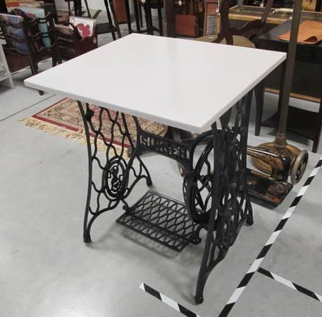 Treadle Sewing Machine Base Table Stand For Sale In