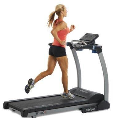 Treadmill- Lifespan TR1200i