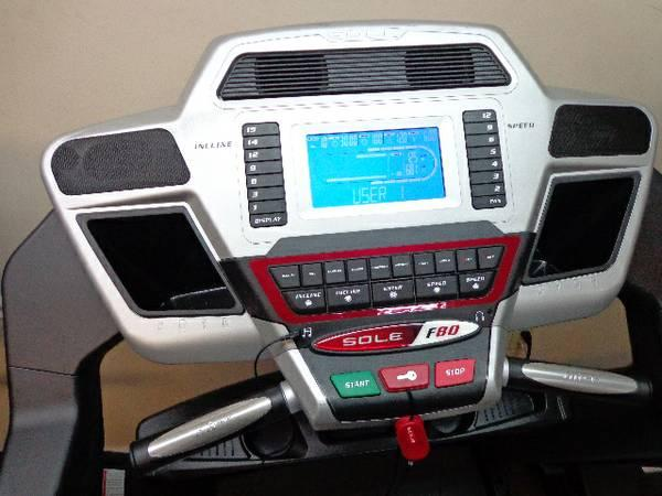 Treadmill Sole F80 CLOSEOUT - $1299