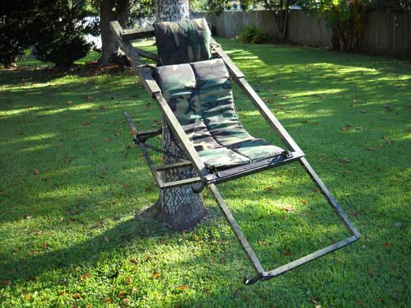 Tree Lounge Climbing Tree Stand For Sale In New Iberia